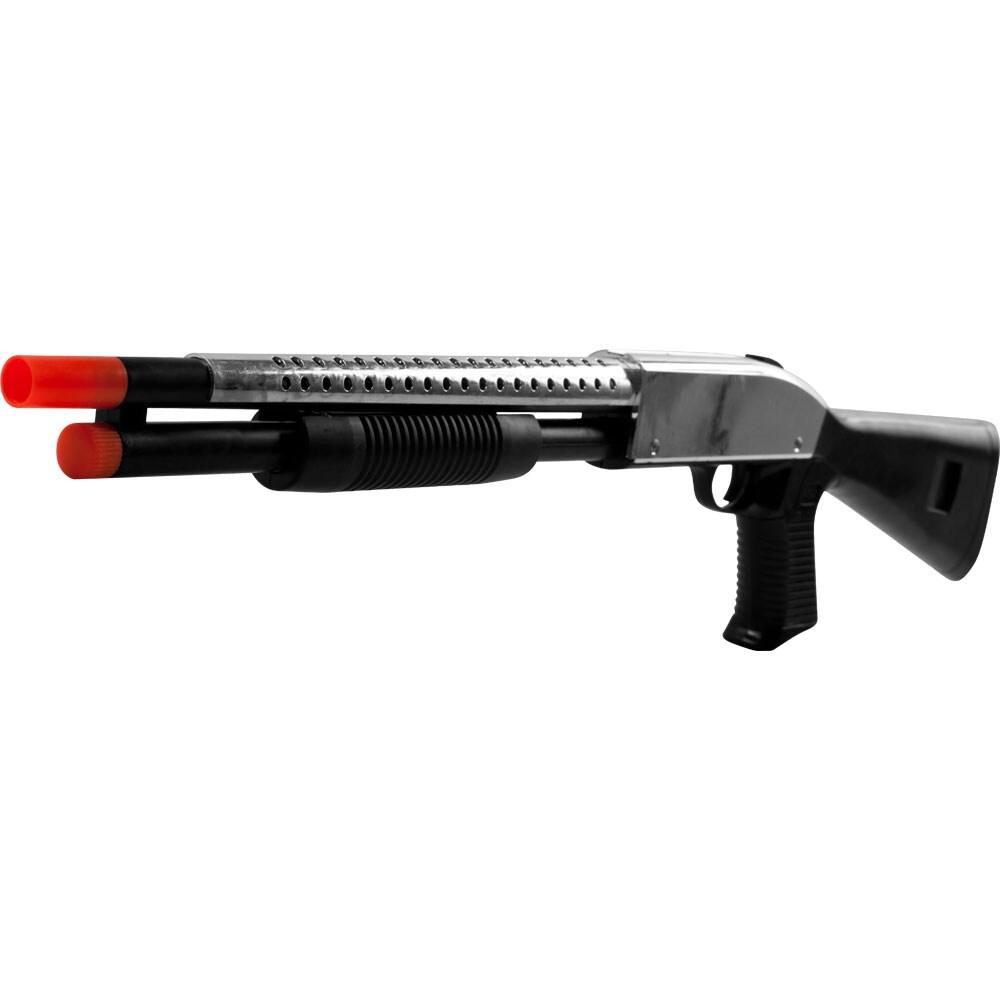 Whetstone P599 Silver Airsoft Pump Shotgun for Six-millimeter BBs