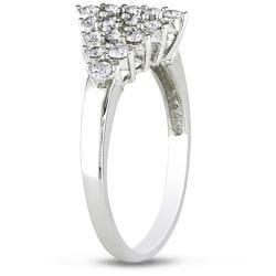 Miadora 14k White Gold 3/4ct TDW Diamond Ring - Thumbnail 1