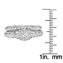 14k White Gold 3/4ct TDW White Diamond Ring (G, SI1-SI2) - Thumbnail 2