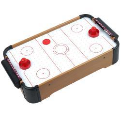 Trademark Games Mini Table Top Air Hockey w/ Accessories