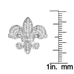 10k White Gold 1/3ct TDW White Diamond Ring (H, I1-I2) - Thumbnail 2