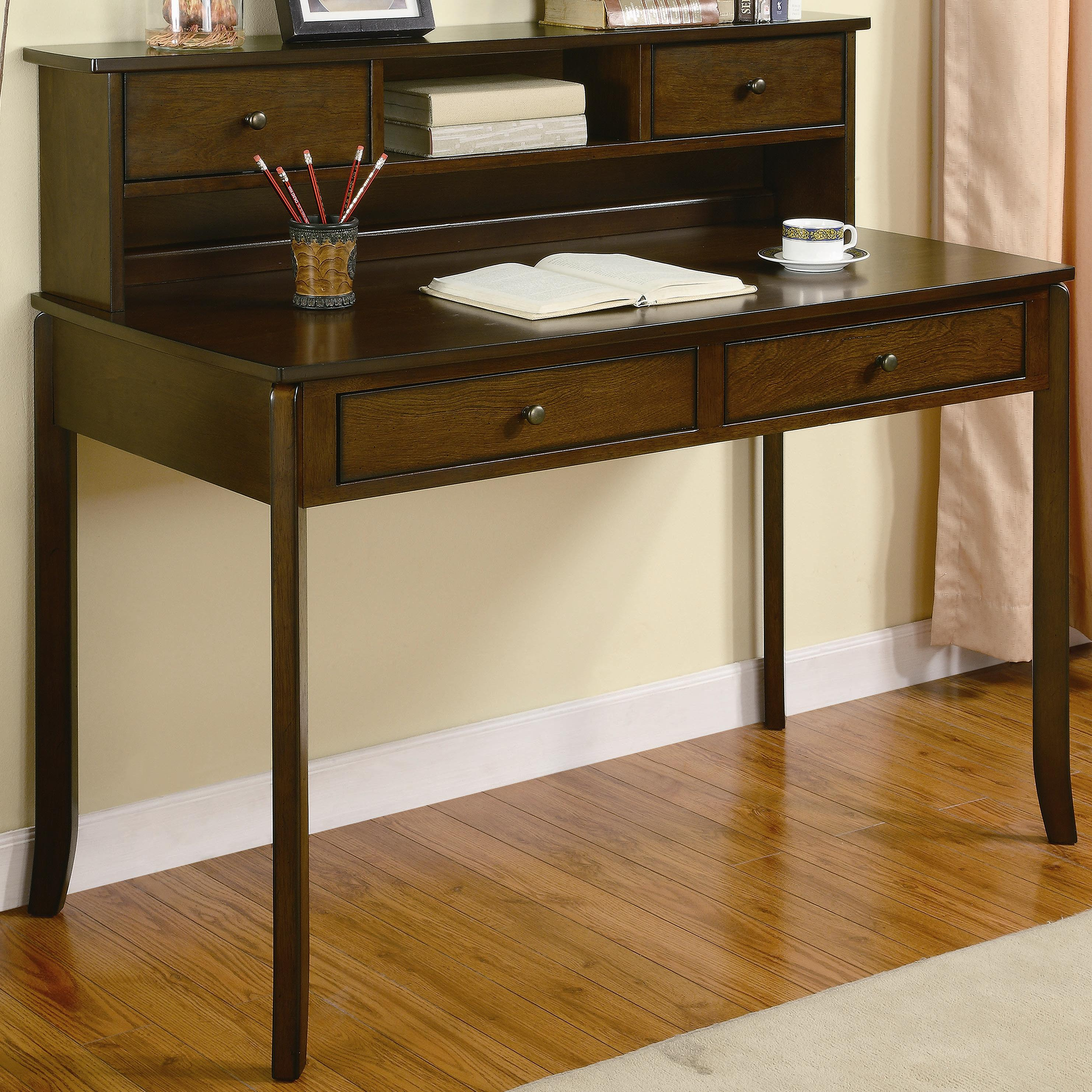 classic home office desk hutch allie classic writing desk with small storage hutch amazing office desk hutch