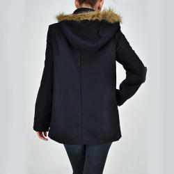 Tabeez Women's Horn Button Coat