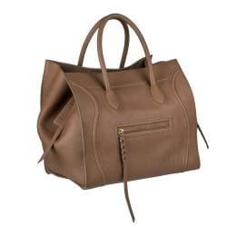 Celine Square Leather Luggage Tote Handbag - Thumbnail 1