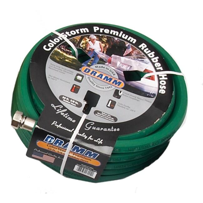 Dramm Colorstorm Premium Green Rubber Hose