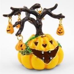 Objet d'art 'Spooky' Halloween Tree Trinket Box - Thumbnail 0