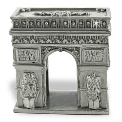 Objet d'art 'L'arc de Triomphe' France Trinket Box - Thumbnail 0