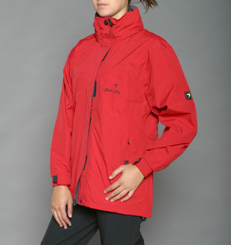 Bimini Bay Women's 'Nantucket' Red Rain Jacket - Free Shipping ...