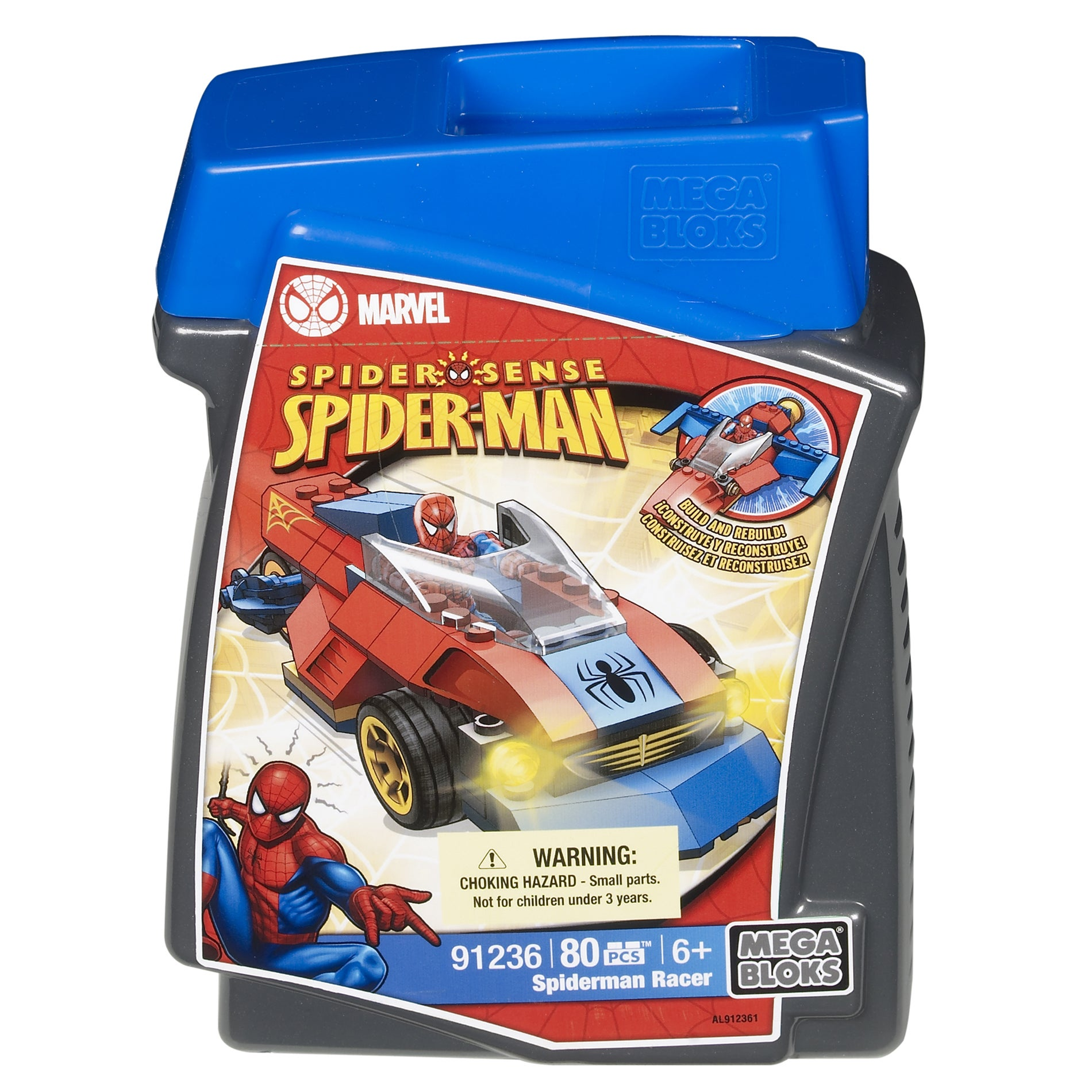 Mega Bloks Marvel Spiderman Chopper Play Set