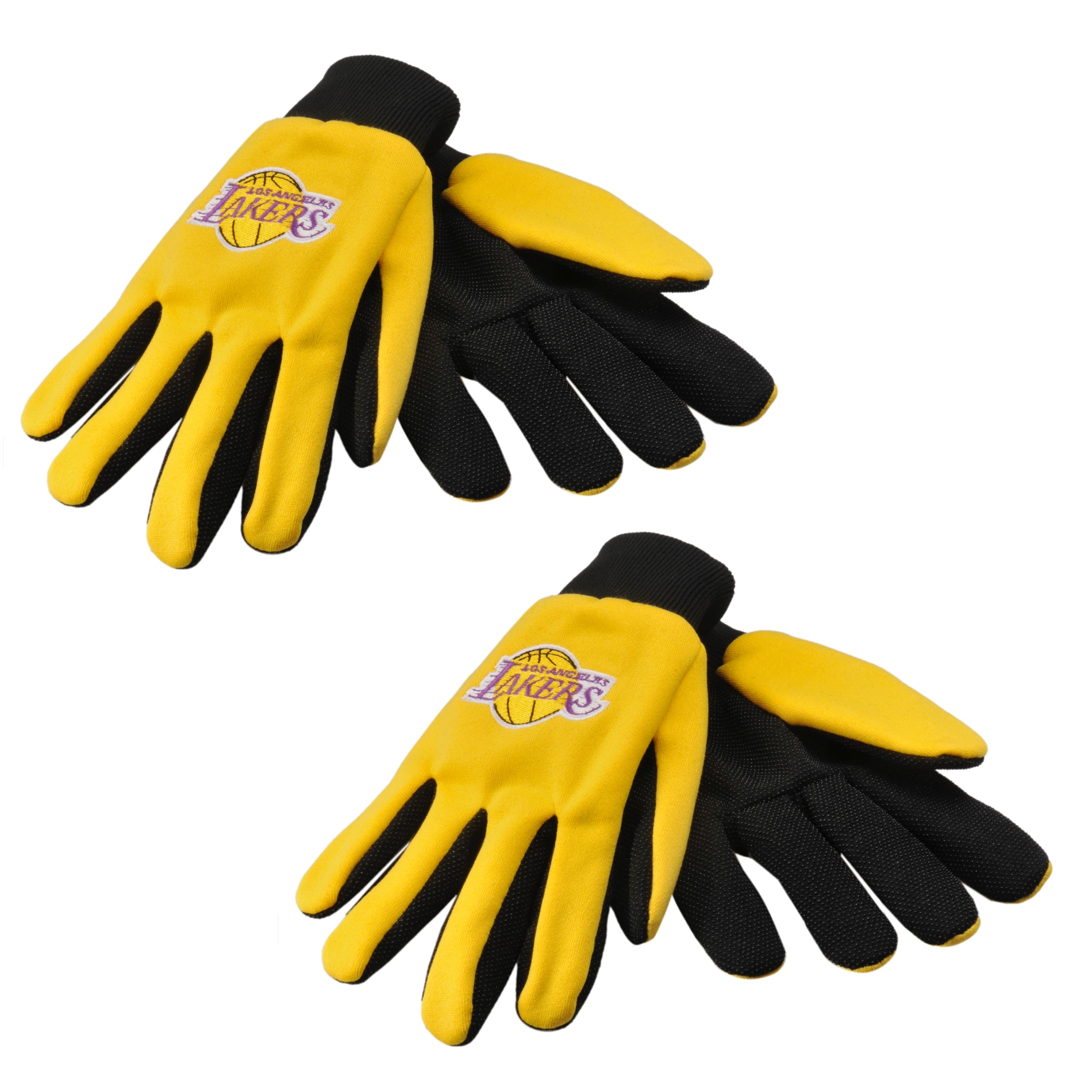 Los Angeles Lakers Two-tone Gloves (Set of 2 Pair)