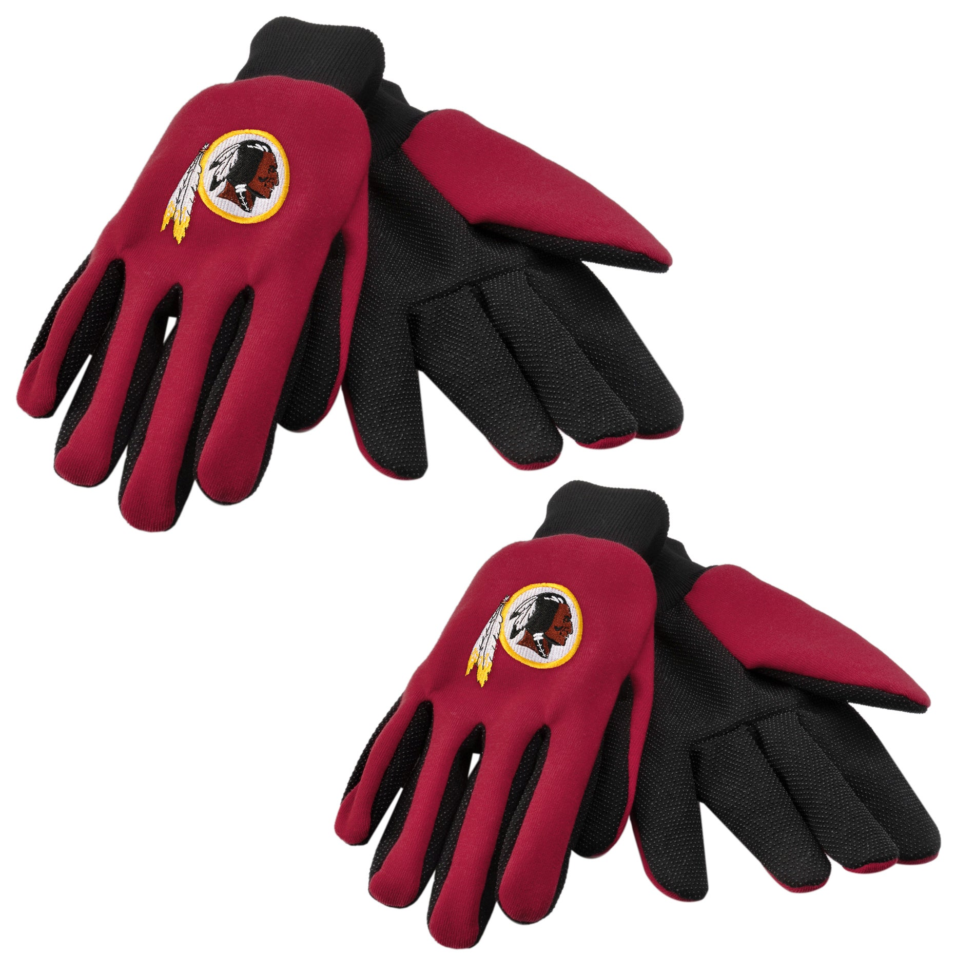 Washington Redskins Two-tone Gloves (Set of 2 Pair)