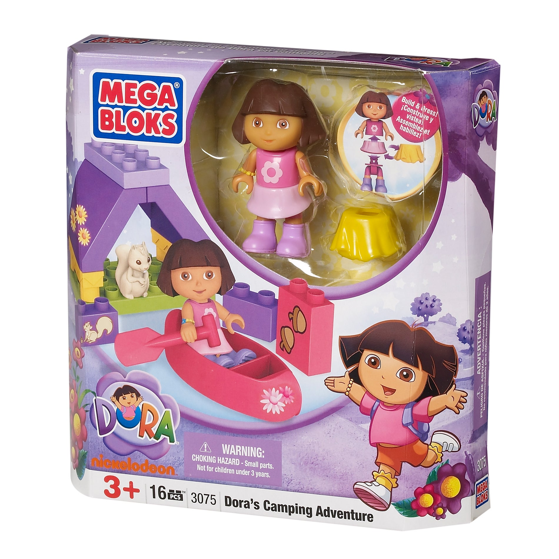 Mega Bloks Dora The Explorer Camping Adventure Play Set