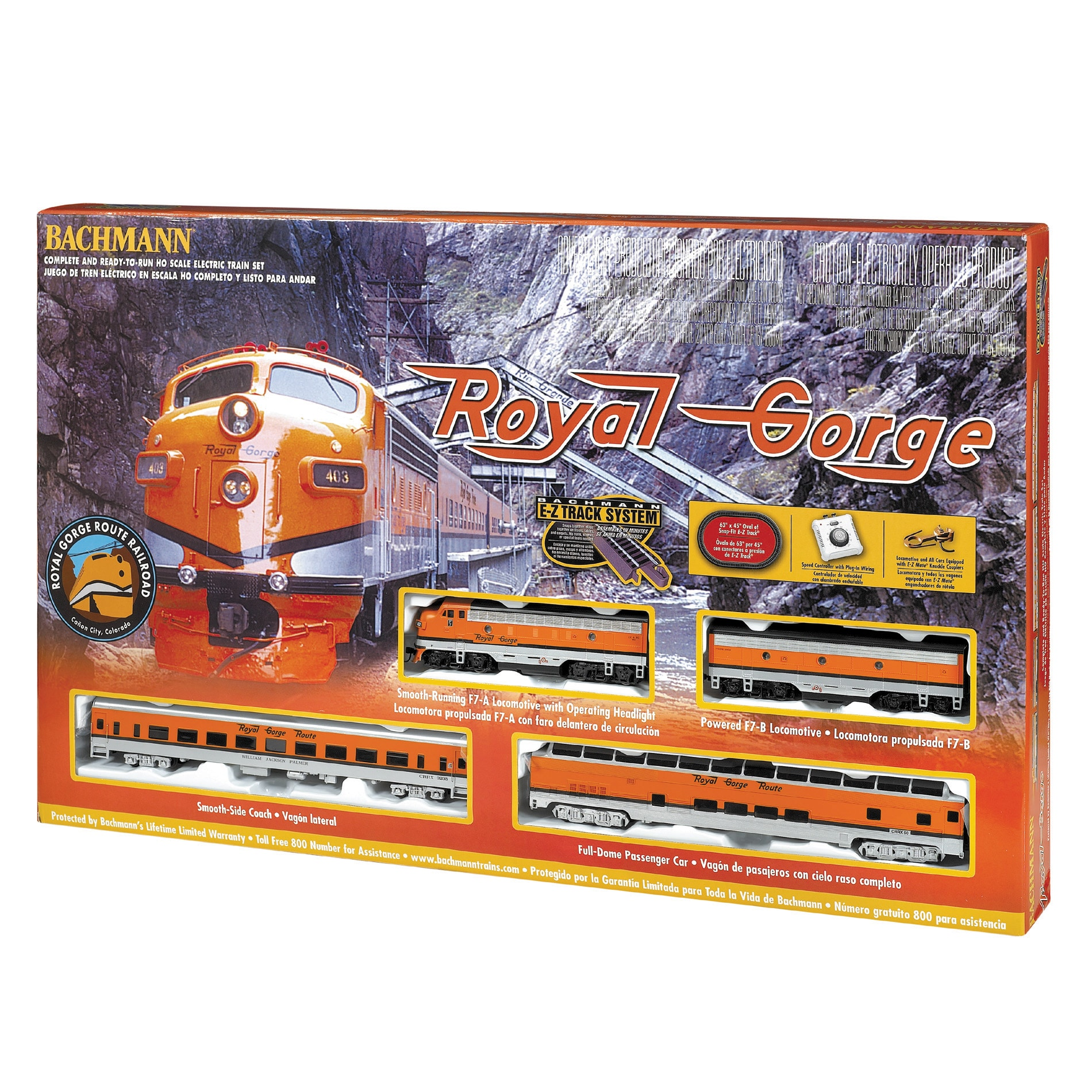 Bachmann HO Scale Royal George Train Set - Thumbnail 0