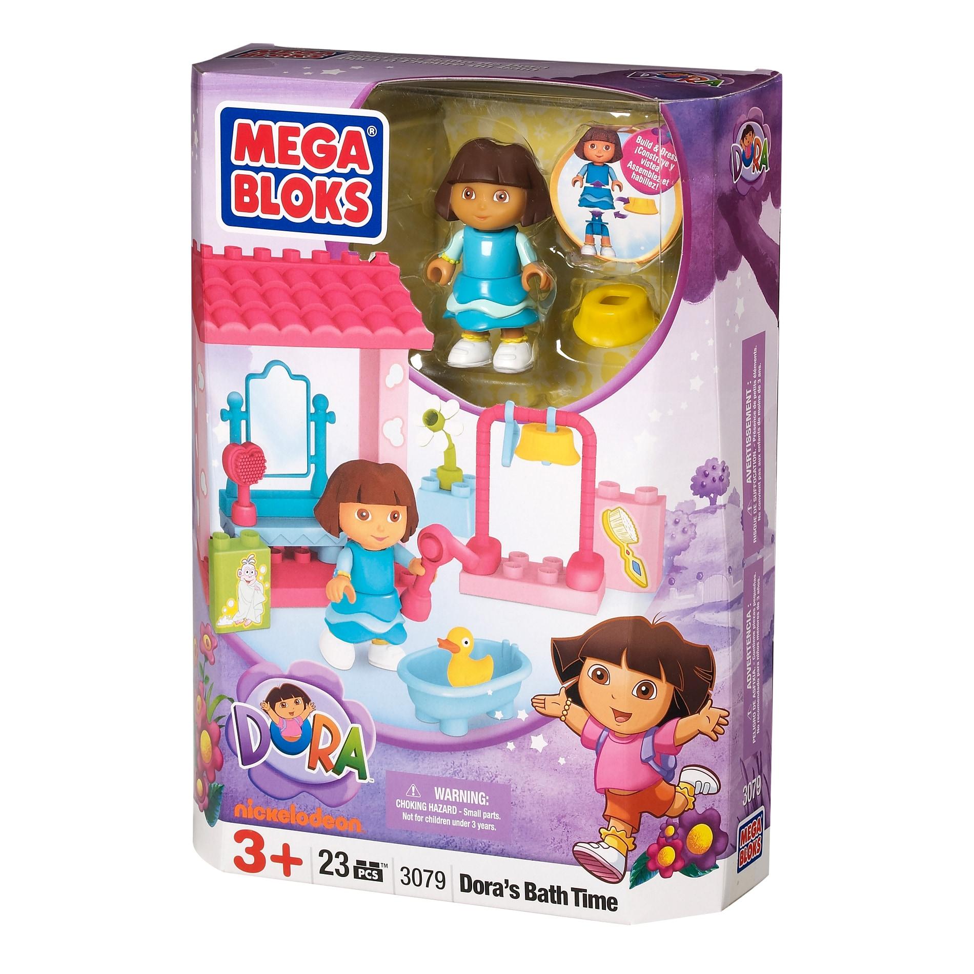 Mega Bloks Dora The Explorer Bath Time Adventure Play Set