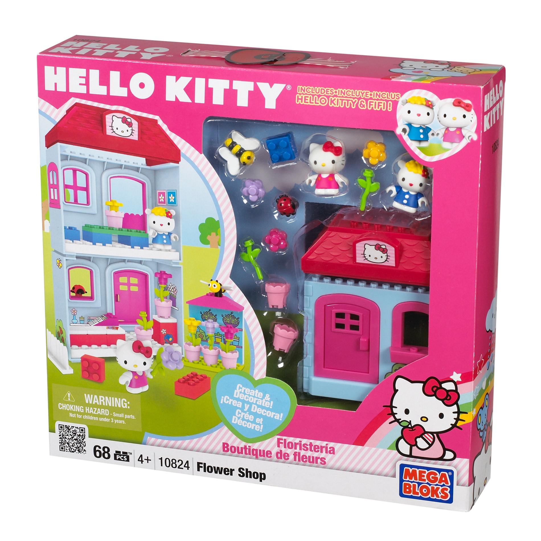 Mega Bloks Hello Kitty Flower Boutique Play Set