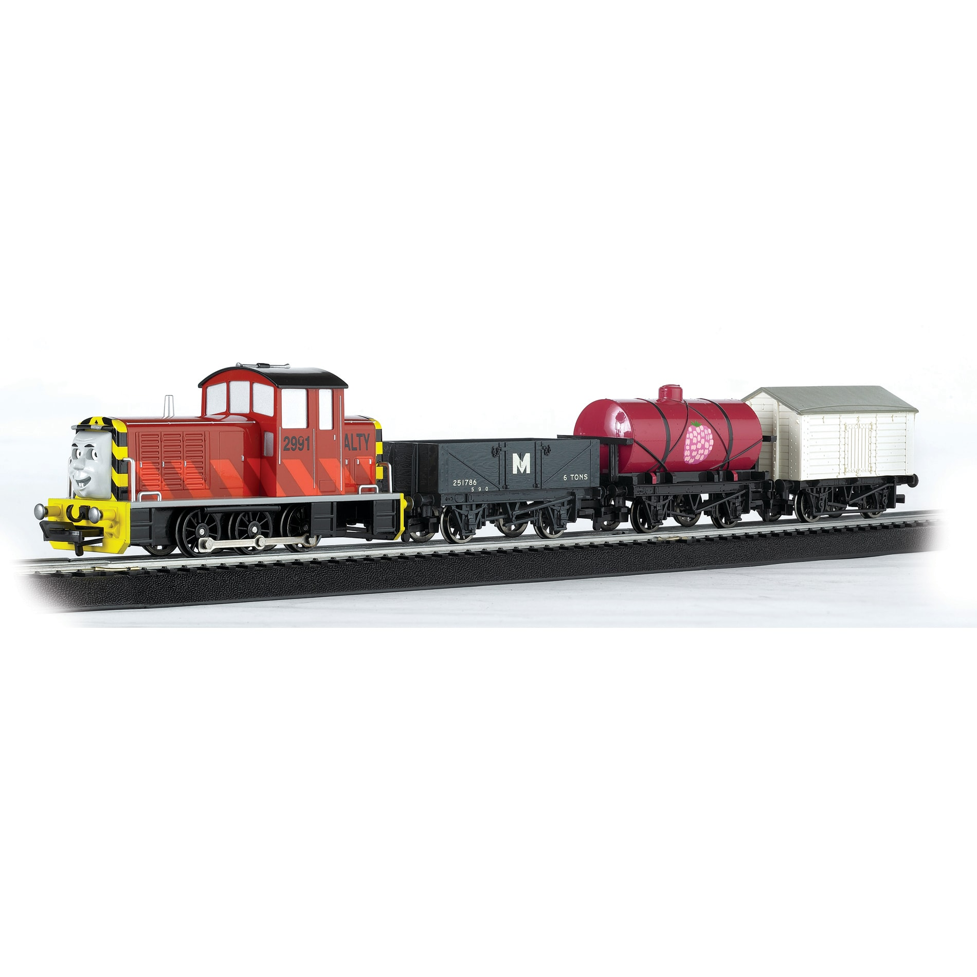 Thomas and friends henrietta train engine toy