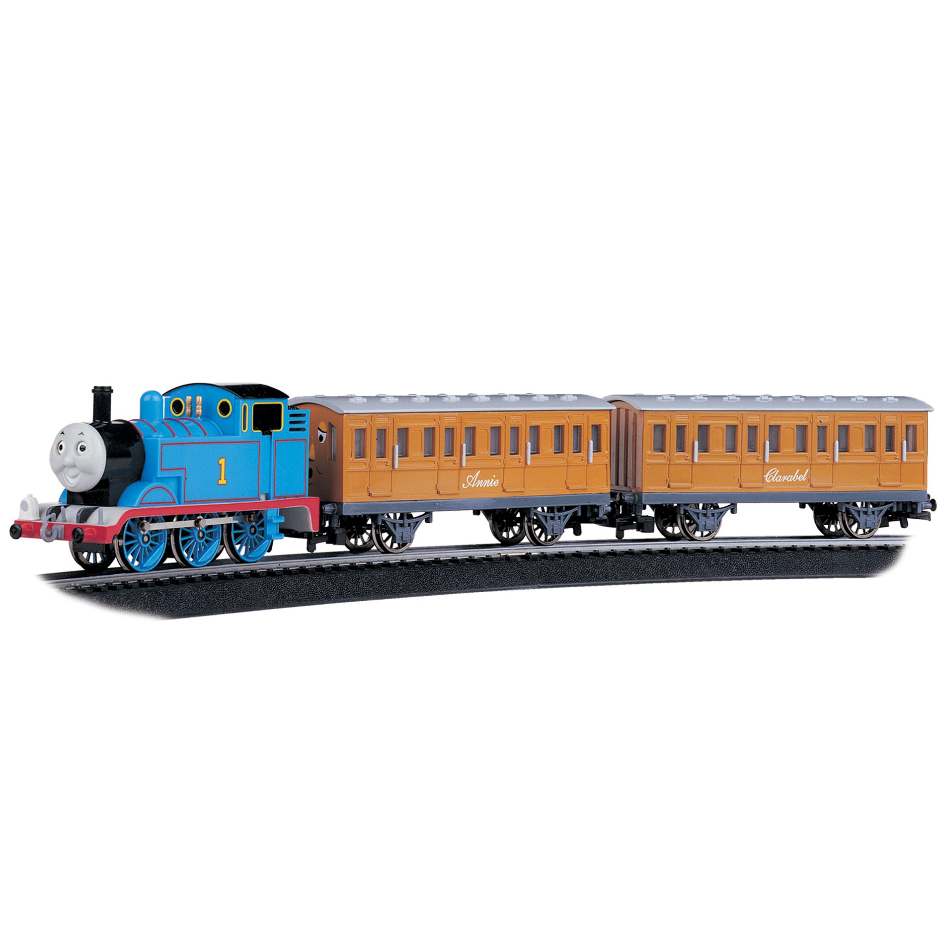 Bachmann HO Scale Thomas with Annie and Clarabel Train Se...