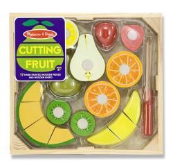 Melissa & Doug Cutting Fruit Crate Play Set - Thumbnail 1