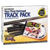 Bachmann HO Scale Your First Railroad' Track Pack