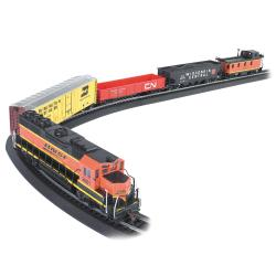 Bachmann HO Scale Rail Chief Train Set - Thumbnail 0