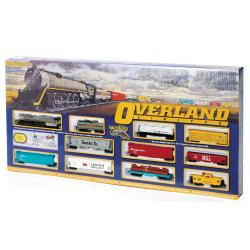 Thumbnail 1, Bachmann HO Scale Overland Limited Train Set.