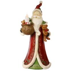 Santa Figure 32.5-inch Electric Candle