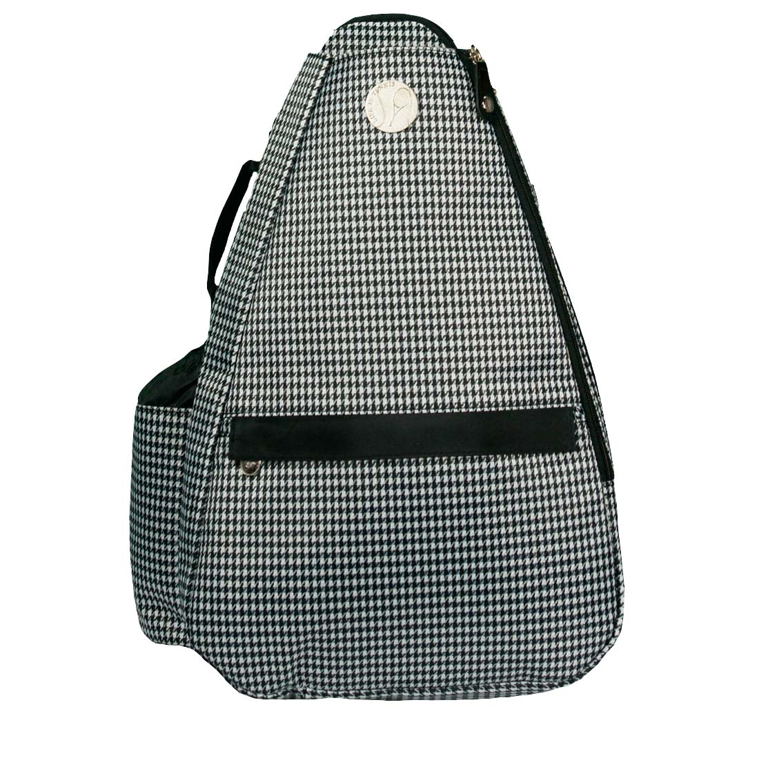 Jet Pac Houndstooth Tennis Sling Bag