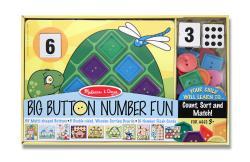 Melissa & Doug Big Button Number Fun - Thumbnail 1
