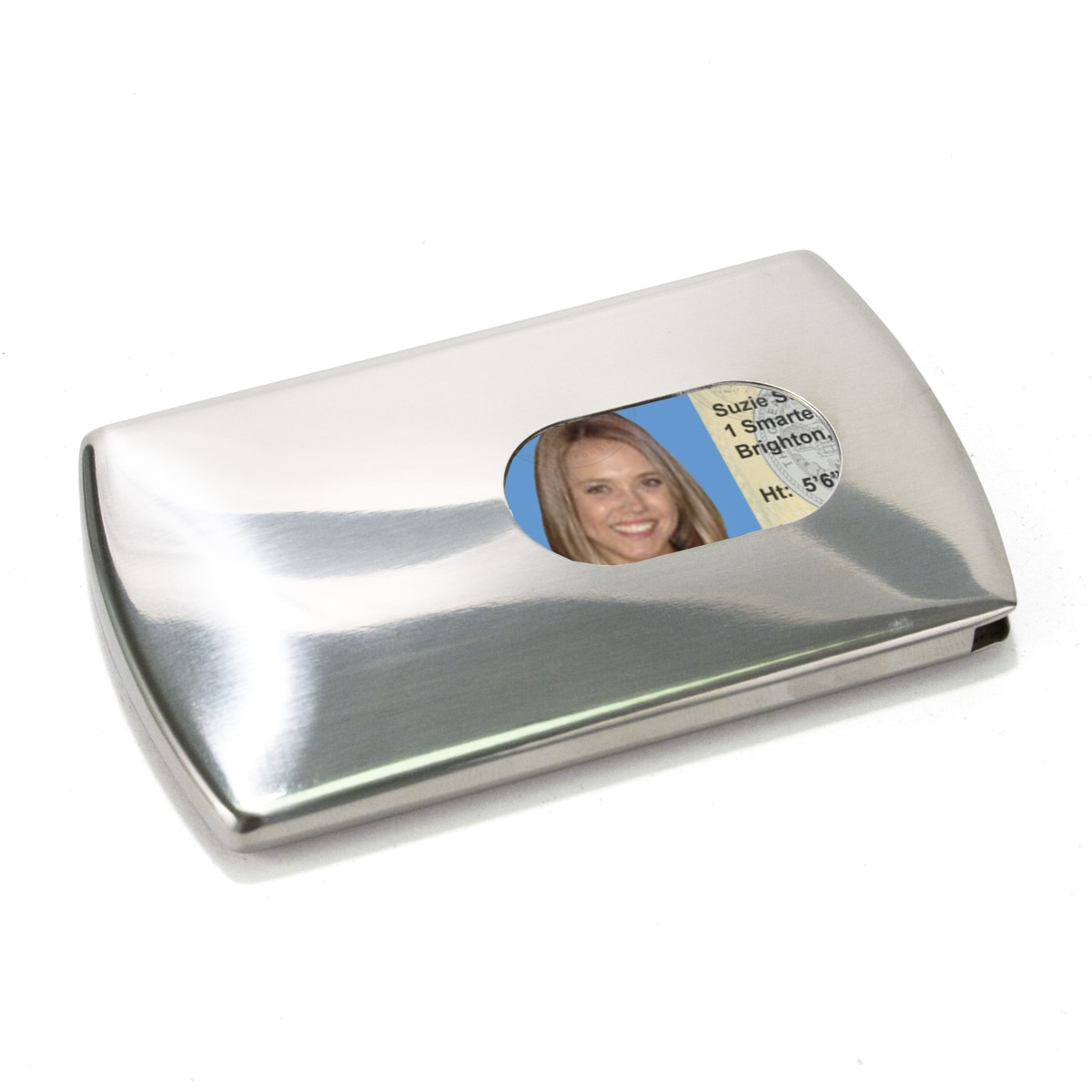 Storus Multipurpose Stainless Steel Business Card and Smart Card Case