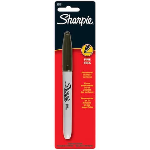 Sharpie Black Fine Tip Marker