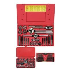 Irwin Hanson Set Tap & Die 3Mm-24Hex Combination Set