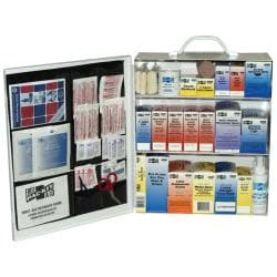 Pac-Kit Standard Industrial 3-Shelf First Aid Station