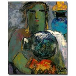Boyer 'Portrait with Jugs' Canvas Art