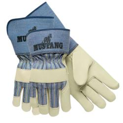Memphis Glove Grain Leather Palm Gloves (Qty 12)