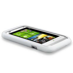 White Case/ Screen Protector/ Headset/ Wrap for HTC Radar 4G - Thumbnail 1