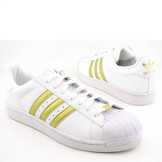 reputable site 900d2 fd5bb Adidas 'Superstar II' Mens White Sneakers(Size 15)