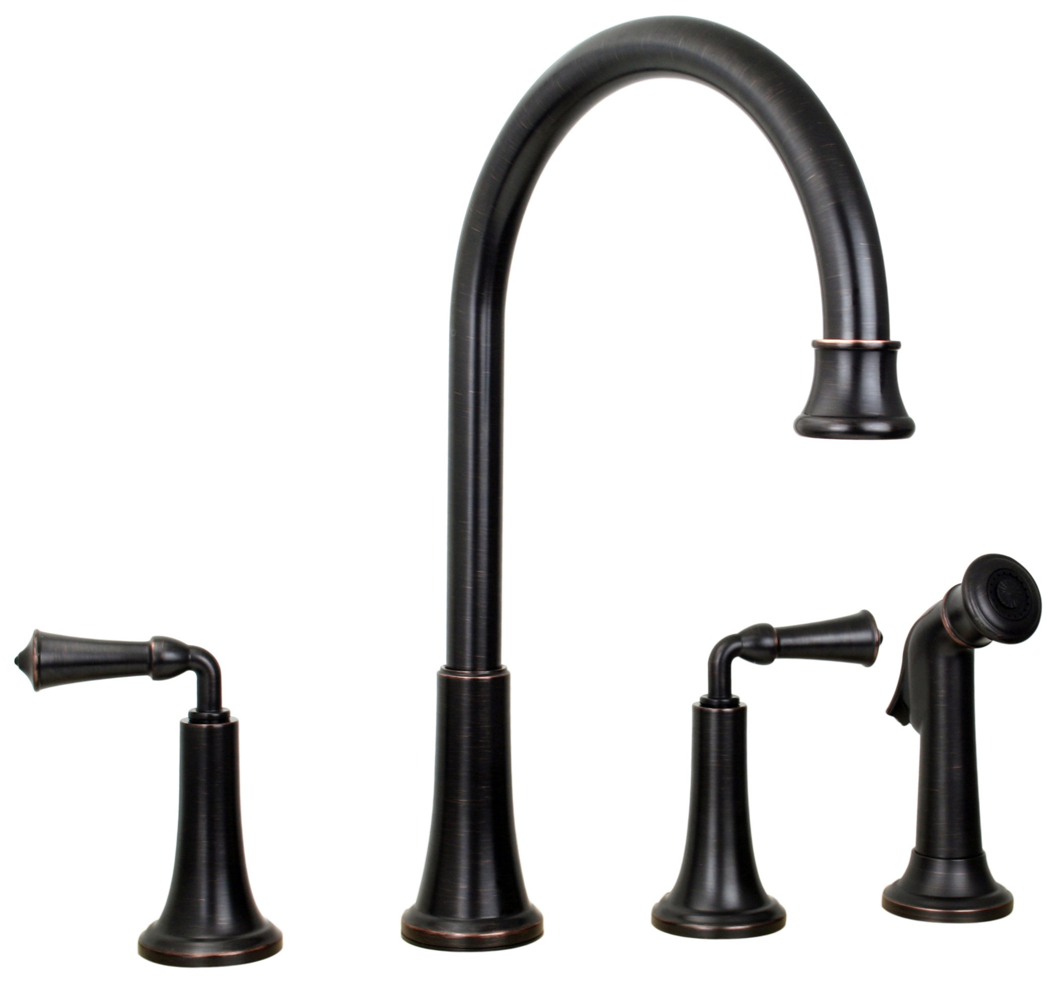 Pfister Kitchen Faucet Price Pfister Bellport Tuscan Bronze Two Handle Kitchen Faucet