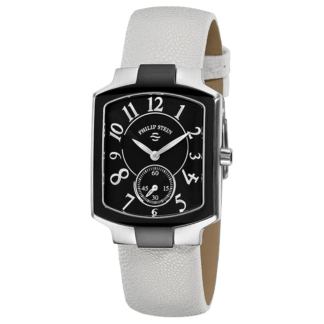 Philip Stein Women's Classic Black Dial Watch