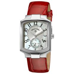 Philip Stein Women's 'Classic' Mother of Pearl Dial Watch