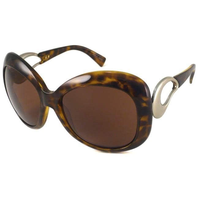 Giorgio Armani GA650/S Women's Oversize Rounded Sunglasses
