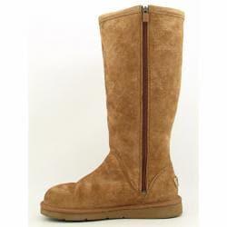 6985f3ed3aa UGG Australia Women's 'Greenfield' Beige Pull-on Boots