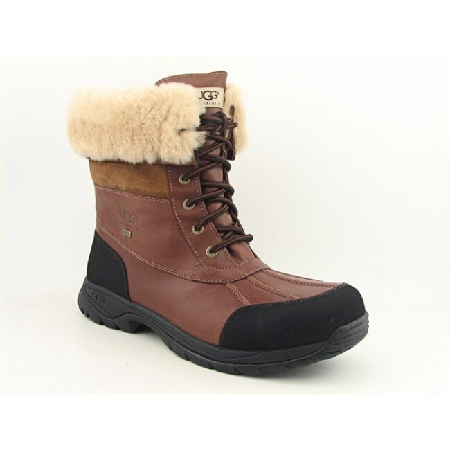 UGG Australia Men's Brown 'Butte' Snow Boots (Size 13)