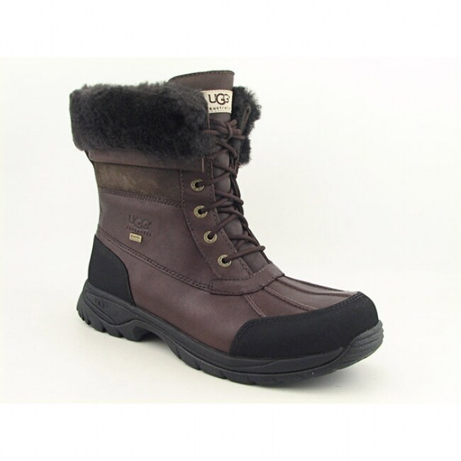 UGG Australia Men's Club Brown 'Butte' Snow Boots