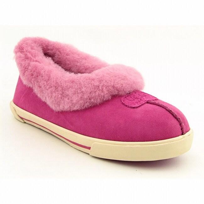 8255c69463b UGG Australia Girl's Pink 'Rylan' Slippers (Size 6)