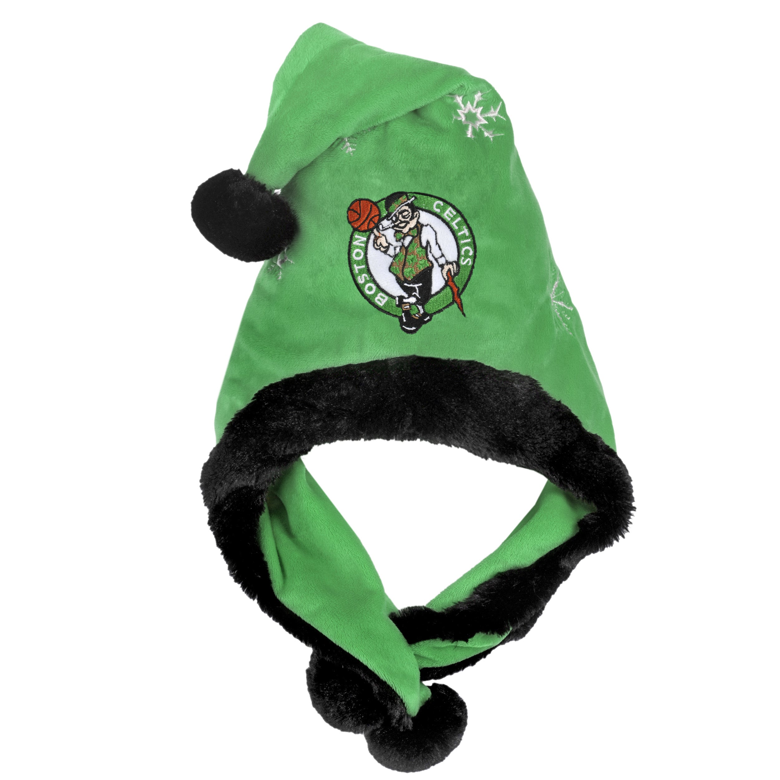 Boston Celtics Thematic Santa Hat