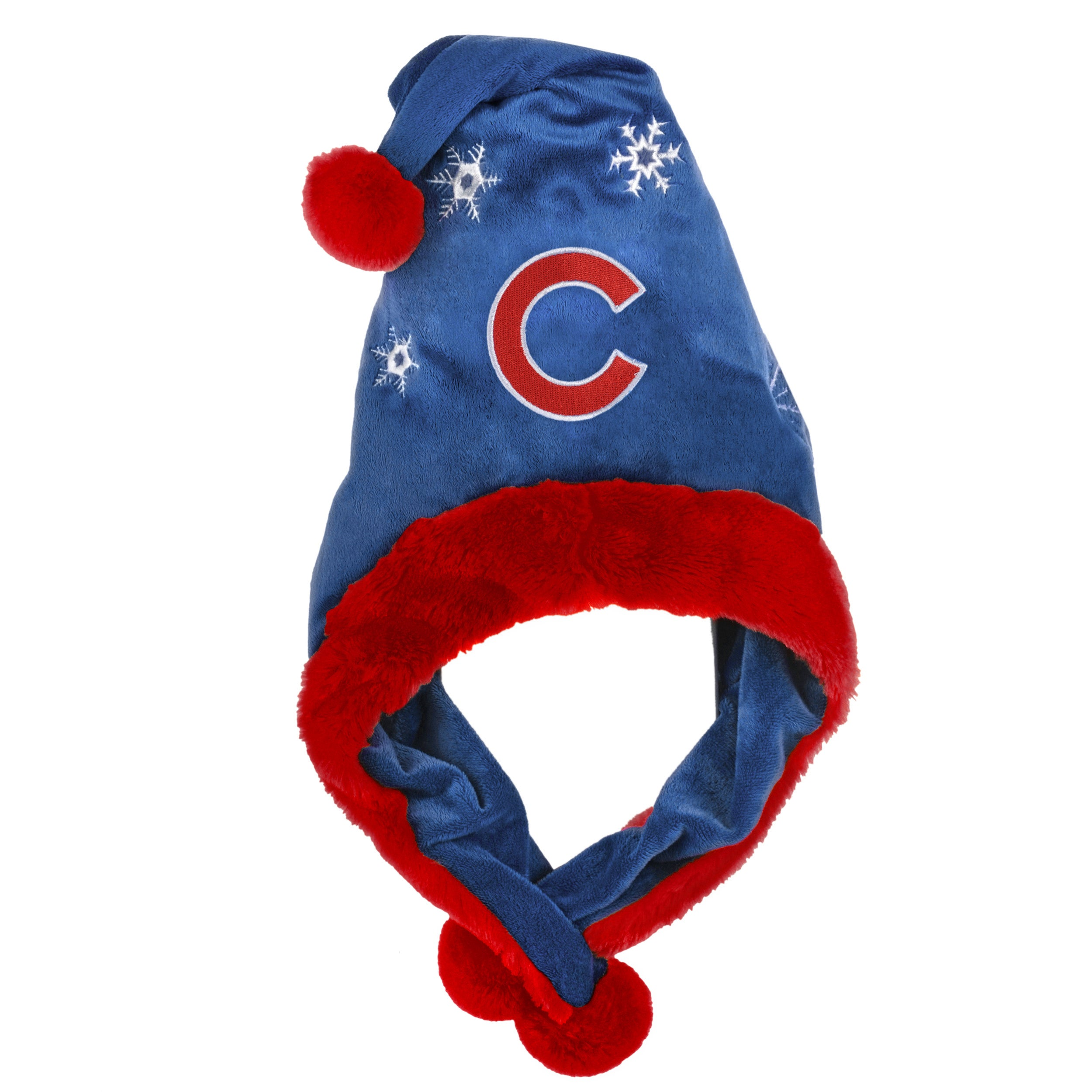 Chicago Cubs Thematic Santa Hat