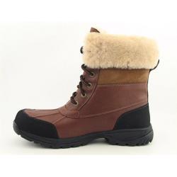 UGG Australia Men's Brown 'Butte' Snow Boots (Size 13) - Thumbnail 1