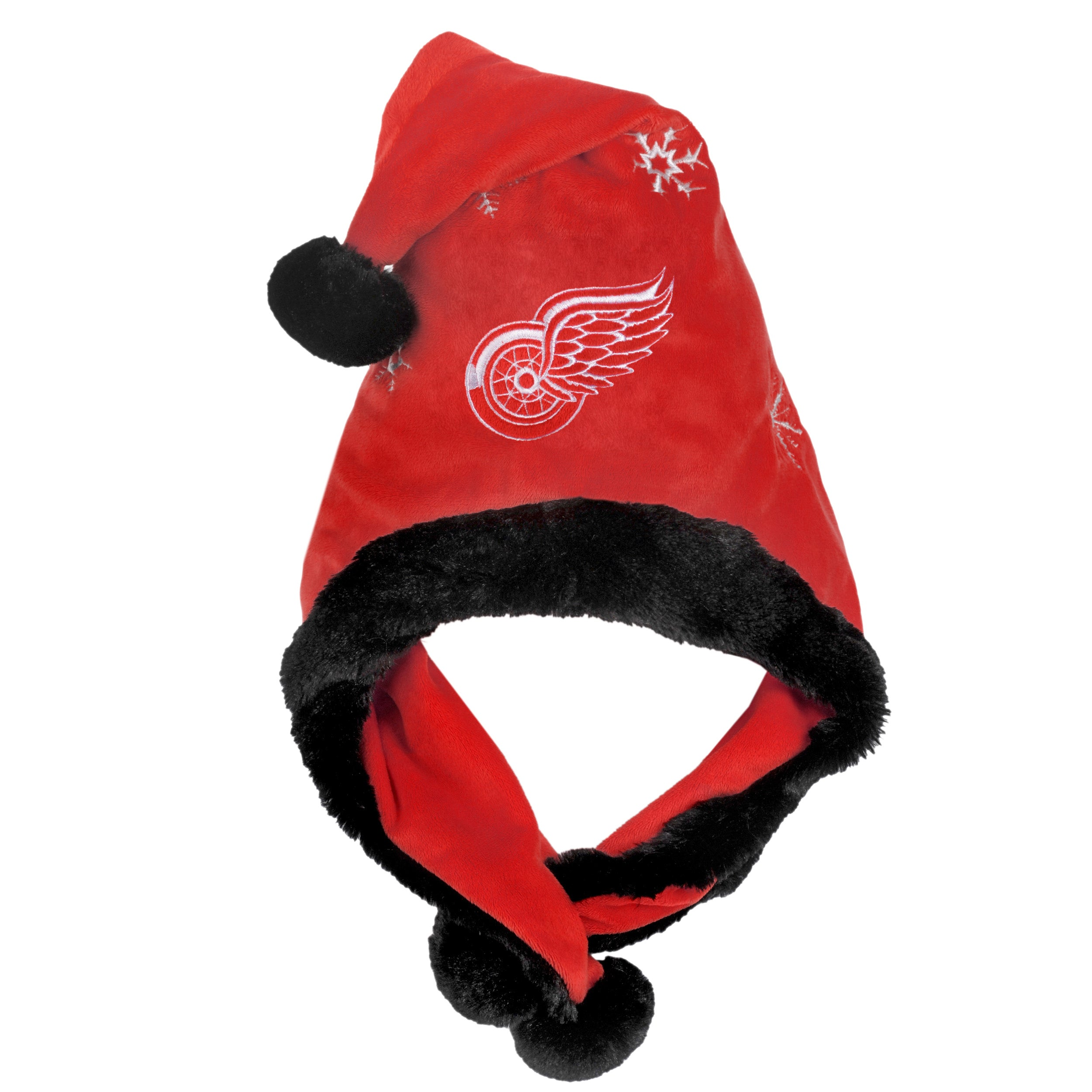 Detroit Red Wings Thematic Santa Hat