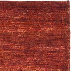 Safavieh Hand-knotted Vegetable Dye Solo Rust Hemp Rug (2' x 3')