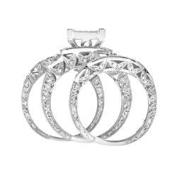 14k White Gold 2ct TDW White Diamond Ring (G, SI1-SI2)